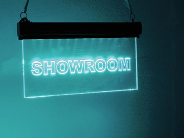 LED informační panel ''showroom'' RGB